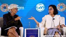 Indonesien Tagung des IWF in Nusa Dua