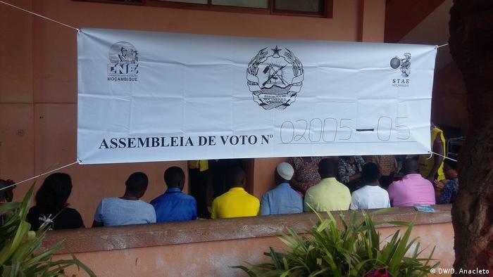 Mosambik Pemba Wahlen (DW/D. Anacleto)