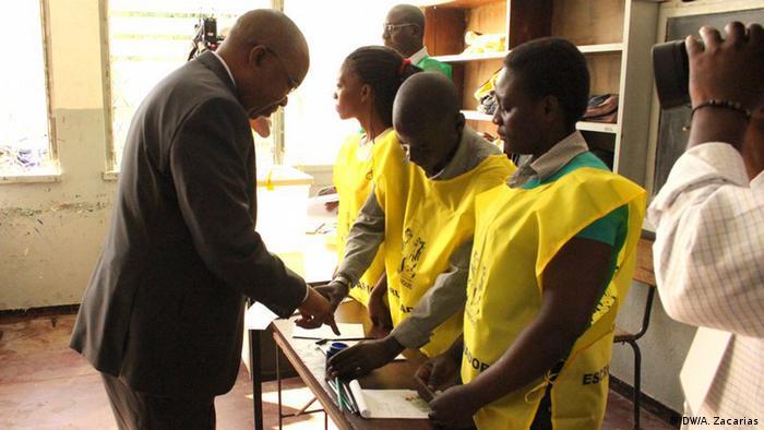 Mosambik Wahlen in Tete (DW/A. Zacarias)
