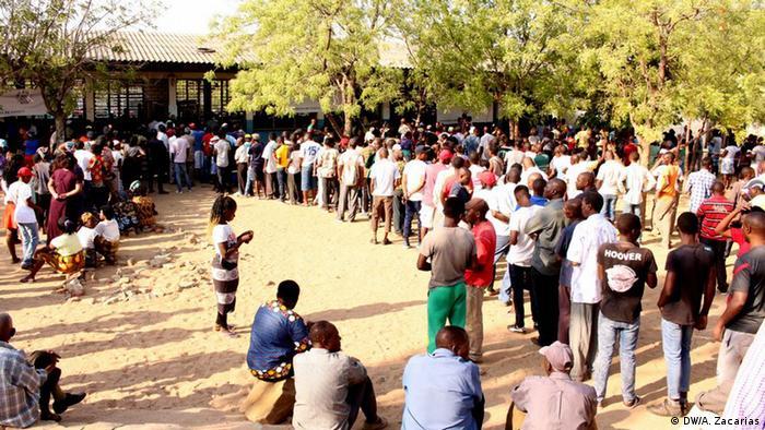 Mosambik Wahlen in Tete