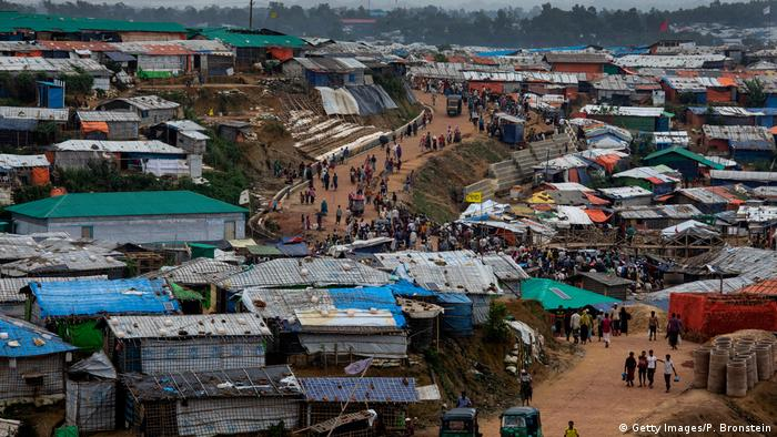 Rohingya refugee camp (Getty Images/P. Bronstein)