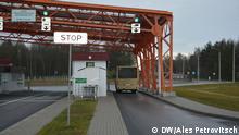 Weißrussland Brest Grenzstation zu Polen