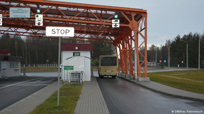 Пункт пограничного контроля на белорусско-польской границе в Бресте