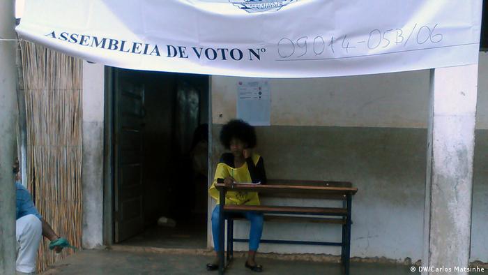 Lokalwahlen in Mosambik - Wahl in Xai-Xai (DW/Carlos Matsinhe)