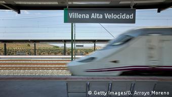 Spain AVE Hochgeschwindigkeitszug (Getty Images/G. Arroyo Moreno)