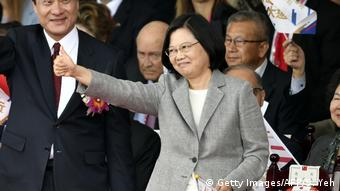Taiwan Tsai Ing-wen (Getty Images/AFP/S. Yeh)