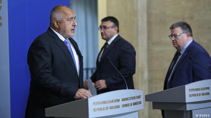 Bulgarien PK Premier Borissov in Sofia (BGNES)