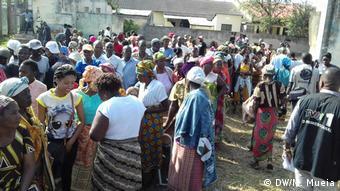 Mosambik Lokalwahlen In Quelimane (DW/M. Mueia)
