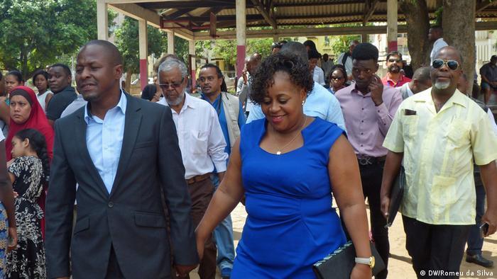 Kommunalwahlen Mosambik - Maputo (DW/Romeu da Silva)