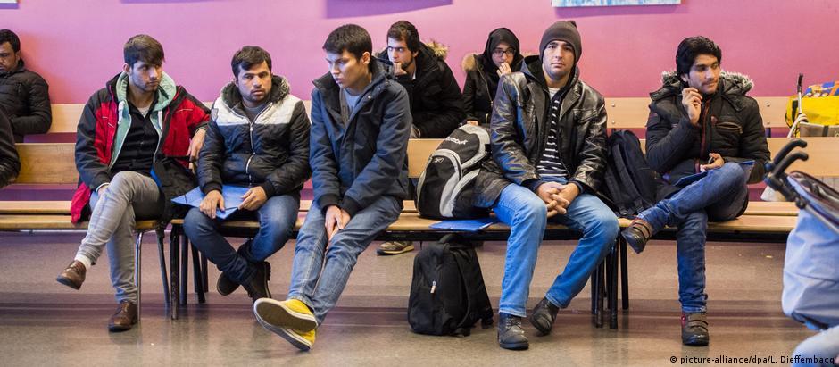 Το Βέλγιο ως χώρα διέλευσης προσφύγων