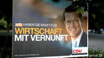 Wahlkampf - CDU/CSU - Guttenberg