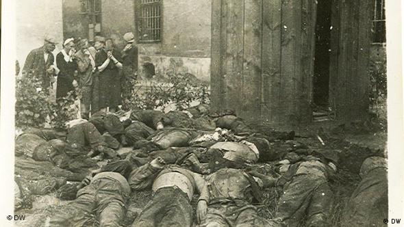 Євреїв примусили виносити напіврозкладені трупи львів´ян, вбитих при відступі радянськими підрозділами НКВД