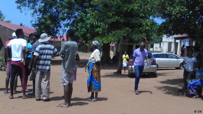Mosambik Wahl in Xai-xai | Hermenegildo Chivure (DW)