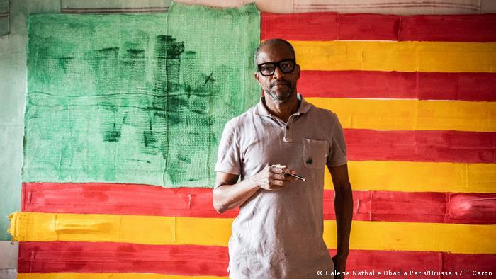 L'artiste sud-africain Nu Barreto et son drapeau revisité
