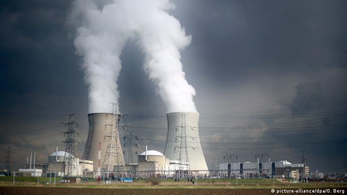 Nuclear reactor in Doel, Belgium