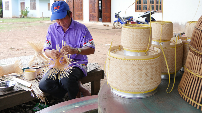 DW Global Ideas Lernpaket #2 Wald 8 (Bambusgefäße, Vietnam)