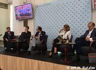 Участники третьего Форума Бориса Немцова в Праге