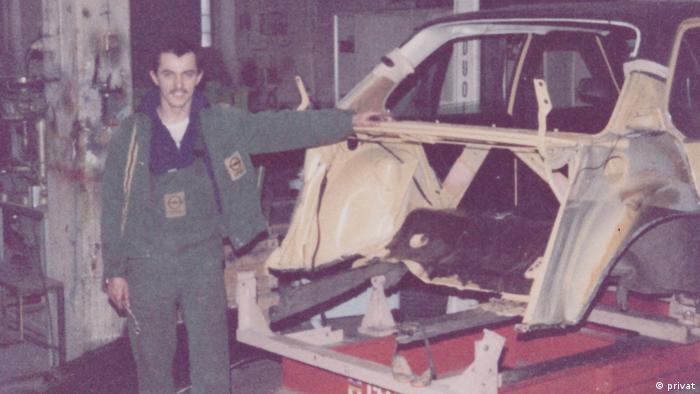 Josip Juratović u fabrici u kojoj je radio kao mladić