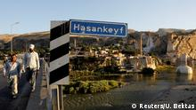 Türkei die antike Stadt Hasankeyf