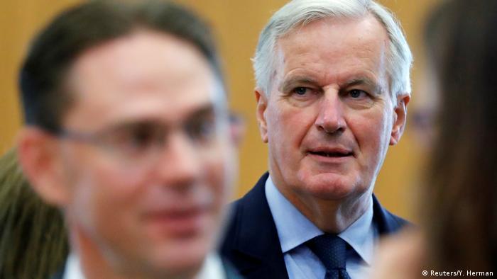 EU hält Brexit-Durchbruch binnen einer Woche für möglich | Michel Barnier (Reuters/Y. Herman)