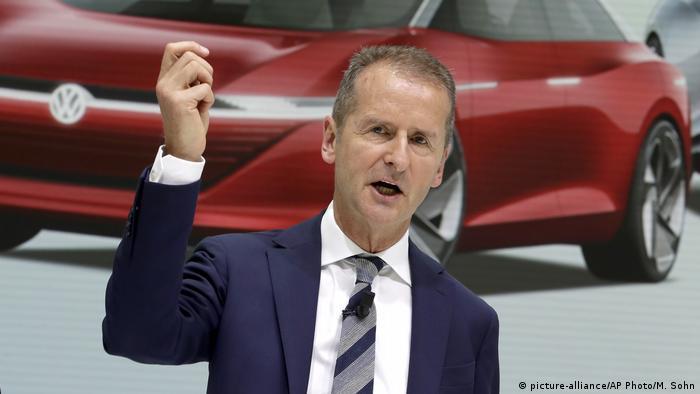 Deutschland VW Konzernchef Herbert Diess