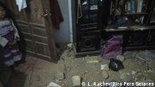 Erdbeben in Situbondo Java, Indonesien