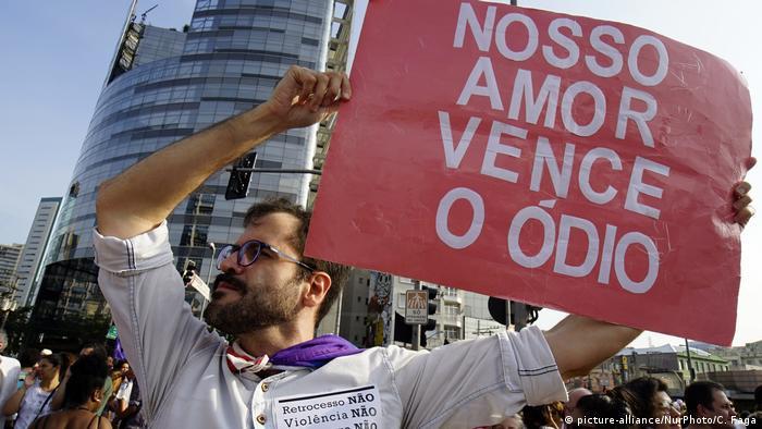 Symbolbild zum politischen Hass in Brasilien