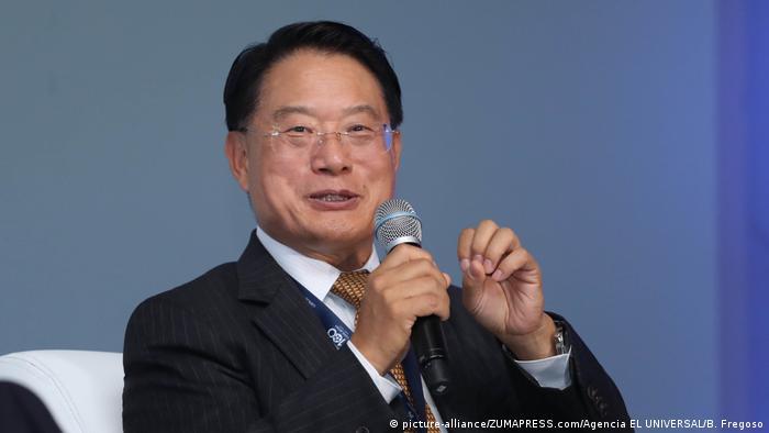 Li Yong, Generaldirektor von UNIDO (picture-alliance/ZUMAPRESS.com/Agencia EL UNIVERSAL/B. Fregoso)
