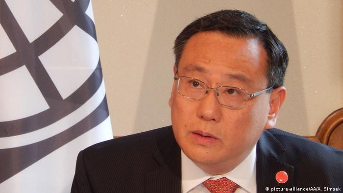 Shaolin Yang, Generaldirektor und Chief Administrative Officer der Weltbankgruppe (picture-alliance/AA/A. Simsek)