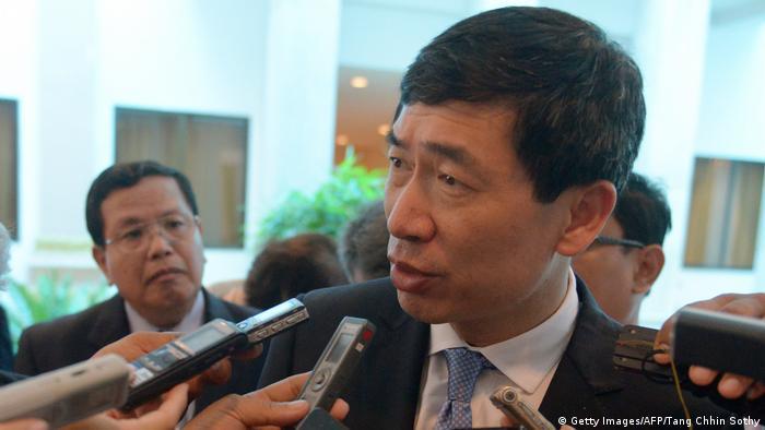 Haoliang Xu , UN-Stellvertretender Generalsekretär und Direktor von UNDP Asia Pacific (Getty Images/AFP/Tang Chhin Sothy)