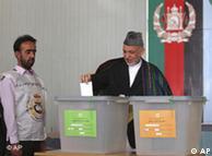 Especialistas acusam Karzai pela miséria do país