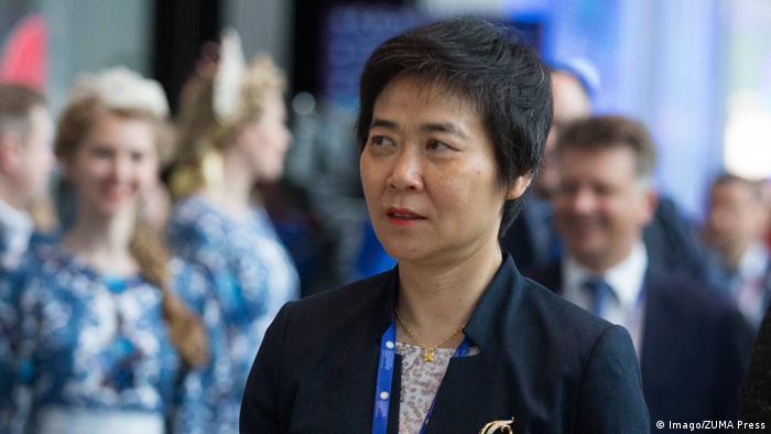 Fang Liu, Generalsekretär der Internationalen Zivilluftfahrt-Organisation (Imago/ZUMA Press)