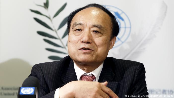 Houlin Zhao, Generalsekretär der Internationalen Fernmeldeunion (picture-alliance/KEYSTONE/S. Di Nolfi)