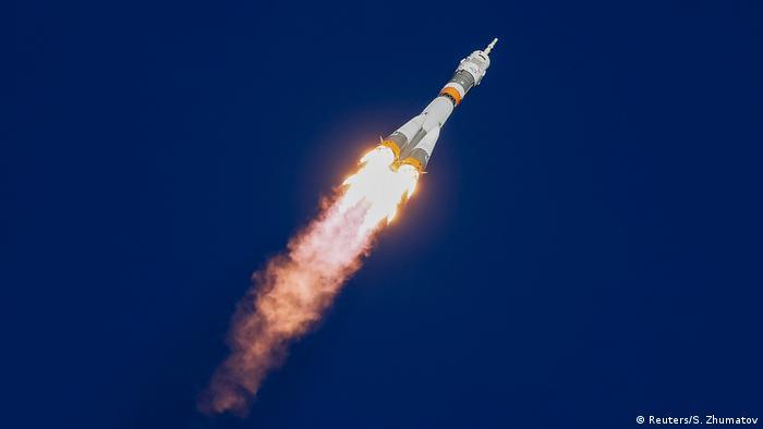 Russland Soyuz MS-10 (Reuters/S. Zhumatov)