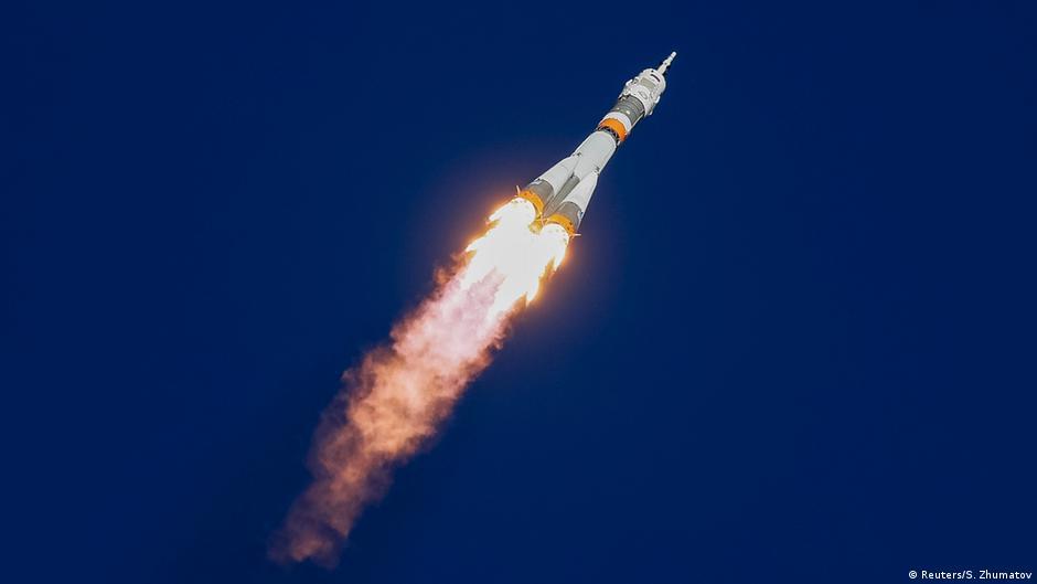 Fehlstart zur ISS: Zwei Astronauten müssen notlanden