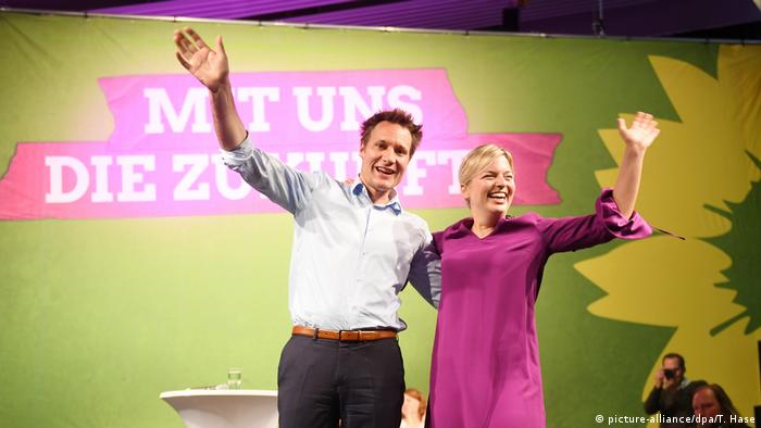 Kleiner Parteitag Grüne Bayern (picture-alliance/dpa/T. Hase)