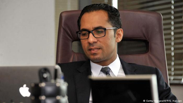 A file picture taken on April 23, 2015, shows Tanzanian businessman Mohammed Dewji at his office in Dar es Salaam.