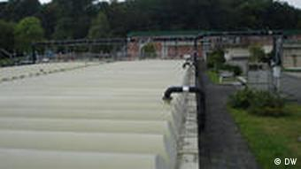 A sewage treatment plant in Cologne