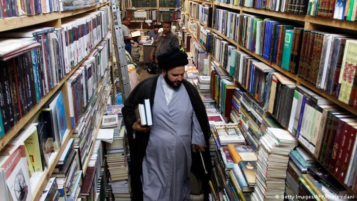 Irak Najaf, Stadt von Buchhandlungen, Theologie und Poesie (Getty Images/AFP/H. Hamdani)