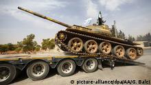 Syrien Abzug der schweren Waffen aus Idlib