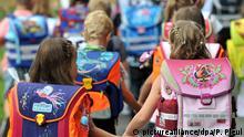 Schule | Schulanfänger unterwegs