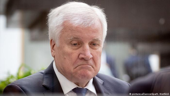 Horst Seehofer, ministrul german de Interne și șeful CSU (picture-alliance/dpa/K. Nietfeld)
