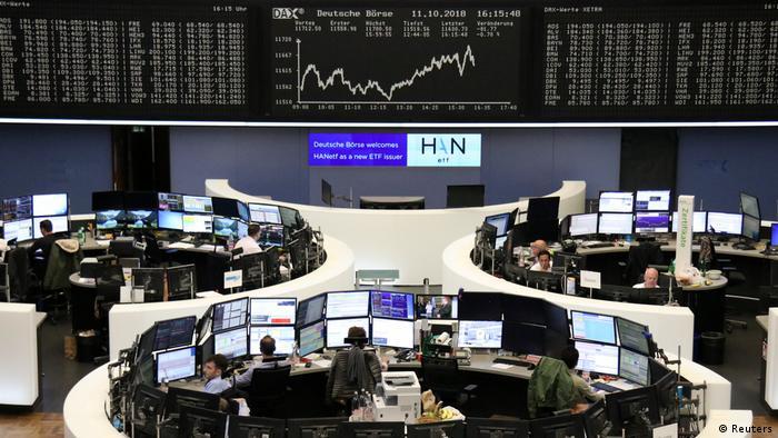 Deutschland Börse in Frankfurt am Main (Reuters)
