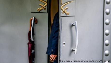 Türkei Istanbul Konsulat Saudi-Arabien | Untersuchungen Jamal Khashoggi (picture-alliance/Anadolu Agency/A. Bolat)