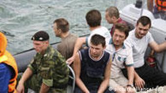 Моряки с Arctic Sea