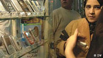 فروشگاه تلفن موبایل، یکی از مغازههای جذاب برای جوانان