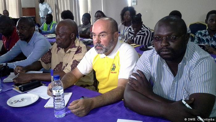 Mosambik Sitzung der NRO Sala da Paz in Chimoio