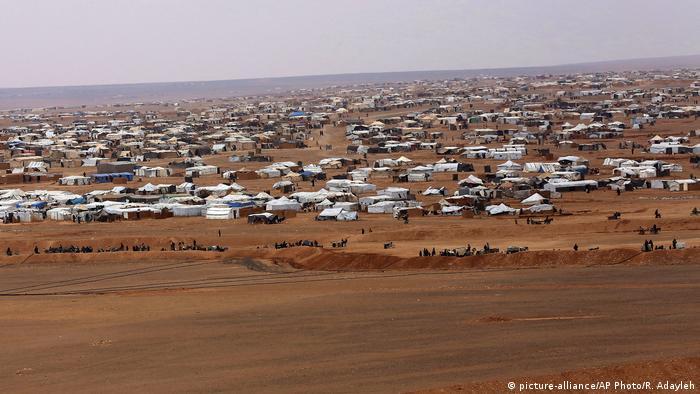 Grenze Jordanien & Syrien | Rukban Flüchtlingslager 2017
