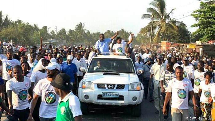 Mosambik Wahl | Anhänger von MDM