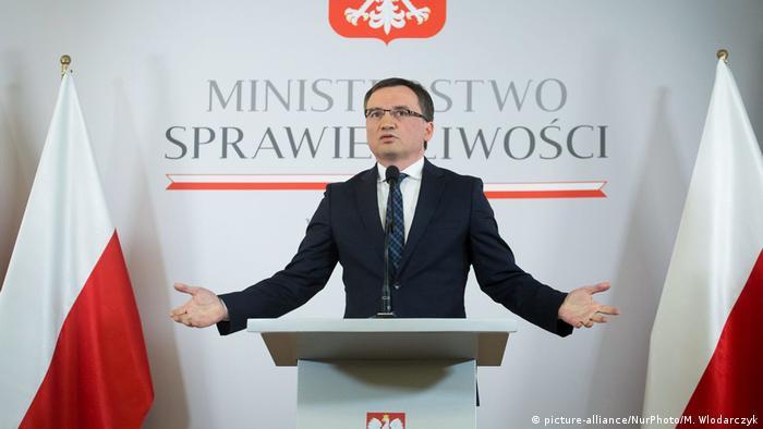 Zbigniew Ziobro, ministrul justiției din Polonia